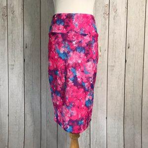 🍬 LuLaRoe Size S Cassie Skirt Cotton Candy Color